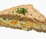 Mashed Egg Sandwich
