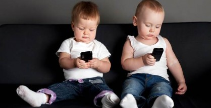 Is your baby tapping on a smartphone